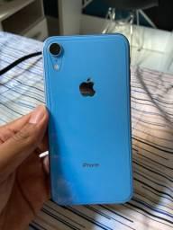 Vendo iPhone XR azul IMPECÁVEL