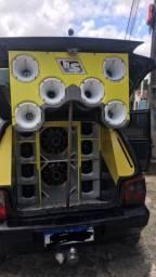 Fiat uno 2011 com Som