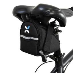 Bolsa De Selim 100 Btwin Ciclismo Bike Pedal Preta