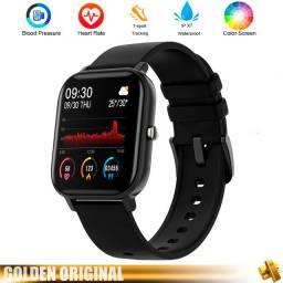 Smartwatch P8 - Colmi, Tela Touch a Prova D'Água com medidor de frequência