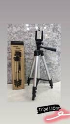 Tripé Para Celular E Camera Profissional De 1.40m Universal