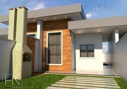 WG Moderna Casa, 2 dormitórios, 1 suíte, 2 banheiros, 3 vagas de garagens