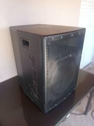 Super caixa som, falante 15 polegadas, driver de médio/agudo.