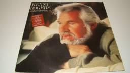 LP Vinil - Kenny Rogers - About Me - 1.983 - 10 músicas - Antigo