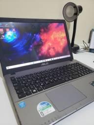 Notebook Asus i5, Tela 15, HD 500Gb, Ram 8Gb