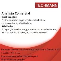 Analista comercial
