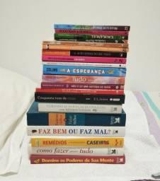 Livros 5 ou 10 reais