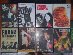 Lote CDs e DVDs musicais (Rock)