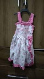 Lote de vestido infantil