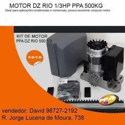 Motor PPA Dz Rio 500 1/3hp para para portão com instalação