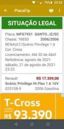Título do anúncio:  Renault scenic previlege