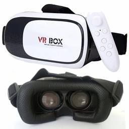 Óculos Vr Box 2.0 + Controle Para Filmes E Jogos
