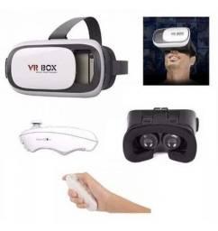 COD:0048 Óculos Realidade Virtual Aumentada 3d Com Controle