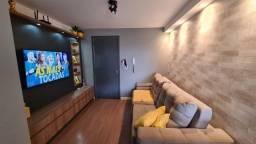 Apartamento com 2 dormitórios à venda, 56 m² por R$ 285.000,00 - Emiliano Perneta - Pinhai