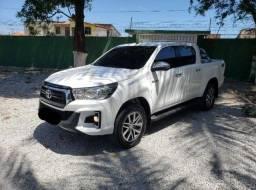 Toyota Hilux 2019/2020 branca