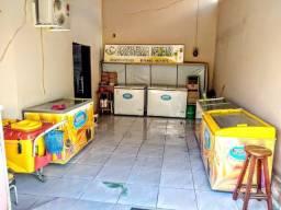Fábrica de sorvetes completa