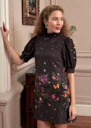 Vestido Antix M - Ultima coleção Preto 380,00 novo com tag