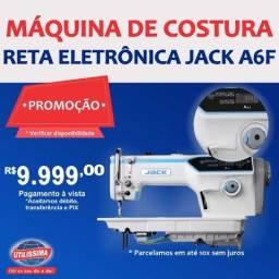 Máquina De Costura Reta Eletrônica Jack A6-f ? Entrega Grátis