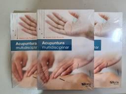 Título do anúncio: Livro Acupuntura Multidisciplinar - novo Lacrado