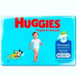 Fralda HUGGIES XG 32