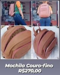 Mochilas Couro-fino