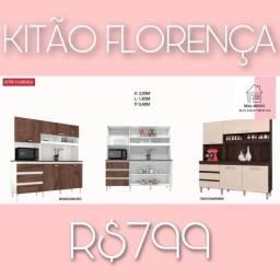 Armário de cozinha Florença kit armário de cozinha Florença Florença de cozinha 010
