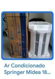 Ar Condicionado na caixa