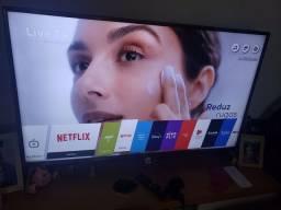 """SmartTV LG 49"""" 4k HDR estado de nova"""