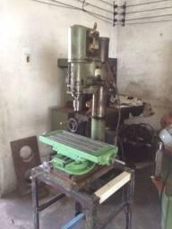 Lote de máquinas Serras furadeira frezadora e outras