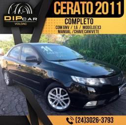 Cerato Ex3 2011 completo com GNV