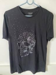 Camiseta preta zara