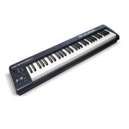 Teclado controlador M-audio keystation 61