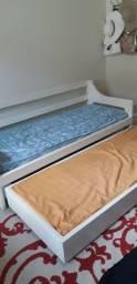 Sofa cama com 2 colchões