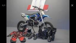 Kit motocross completo