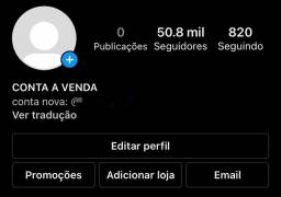 CONTA DO INSTAGRAM 50.8K