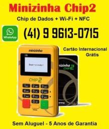 Máquina de Cartão c/Chip e Wi-Fi