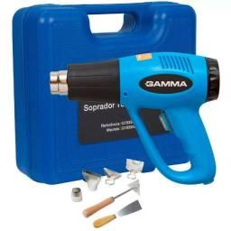 Soprador gamma maleta completo - produto novo