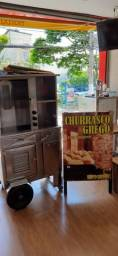 Carrinho churrasco grego semi novo