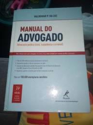 Título do anúncio: Libro manual do advogado.