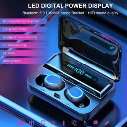 Fones De Ouvido F9 Tws Bluetooth 5.0, 2200mah