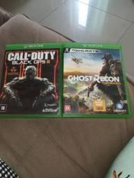 Jogo pra Xbox one original 150 os dois