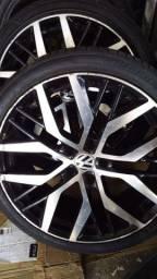 Vendo rodas aro 19 pneus zeros