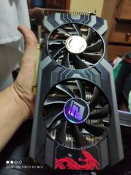 RX 570 Red Dragon Power color