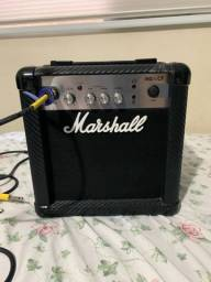 Título do anúncio: amplificador marshall mg10cf
