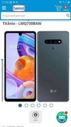 LG K71 titânio