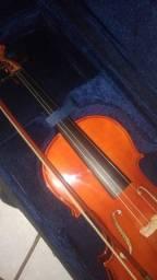 Viola de arco nova, nunca usada