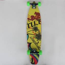 Skate Long Board Montado Completo Tilt Longboard Original