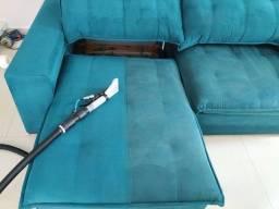 Lavagem a seco Limpeza Higienização Impermeabilização sofá