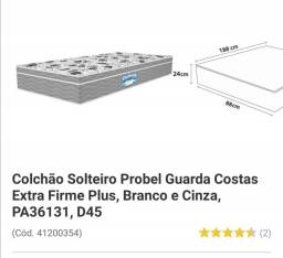 Colchão solteiro espuma Probel D45