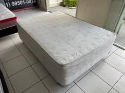 cama box casal Maxflex semi nova